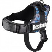 Hondentuig Best Buddy Pluto Blauw Triangle