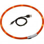 VISIO LIGHT LED HALSBAND ORANJE70CM